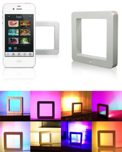 Holi Smart Lamp packaging image