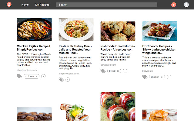 The Cookery Browser Extension