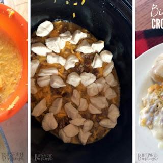 Biscuits and Gravy Crockpot Breakfast Casserole Recipe