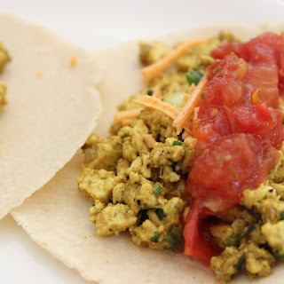 Tofu Scramble Breakfast Tacos