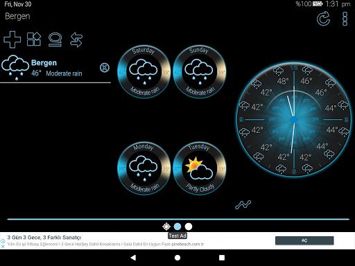Weather Rise Clock 30+ Widgets 4.2.2 screenshots 10