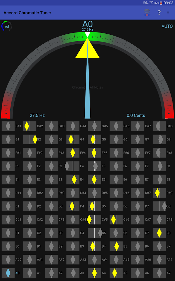 Accord Chromatic Tuner- screenshot