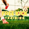 Soccer Free Kick Training
