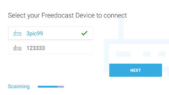 Freedocast Pro - náhled
