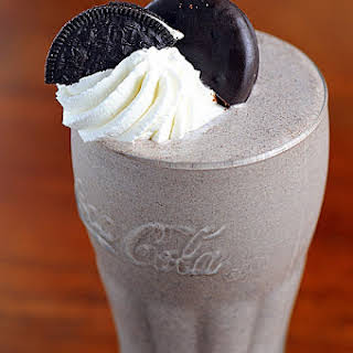 Thin Mint-Oreo Bailey's Irish Cream Milkshake.