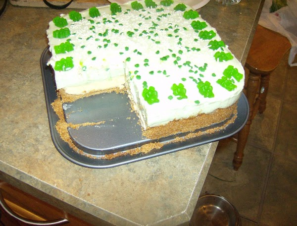 Rose Mary's Double Layer Key Lime Cheesecake