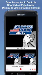 Sports Radio 96.7 WLLF- screenshot thumbnail