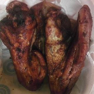 Fried Turkey Wings