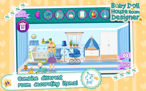 Room Decoration Game Doll Maker