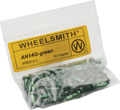 Wheelsmith 2.0 x 12mm Alloy Nipples, Bag of 50 alternate image 3