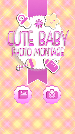 Cute Baby Photo Montage