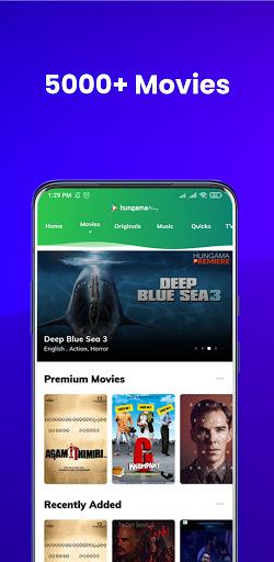hungama play: movies & videos screenshot 1