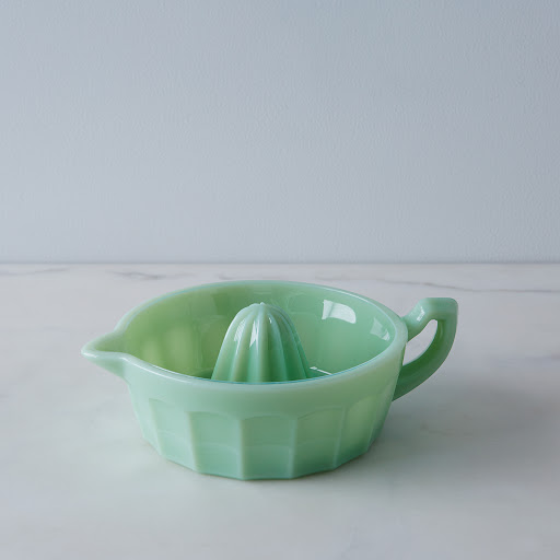 Jadeite Glass Juicer