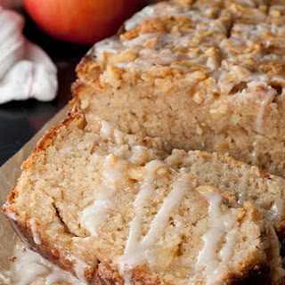 Caramel-Glazed Country Apple Fritter Bread