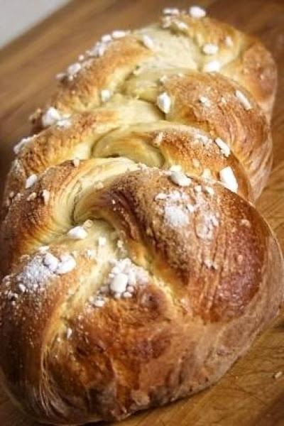 Finnish Pulla Bread Recipe