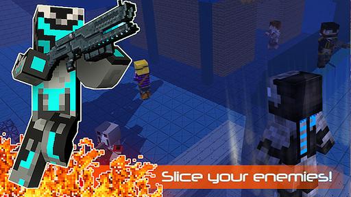 robot ninja battle royale screenshot 2