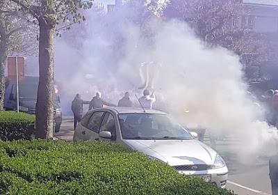 🎥 Honderden Anderlecht-fans wachten spelersbus op en laten zien wat ze verwachten