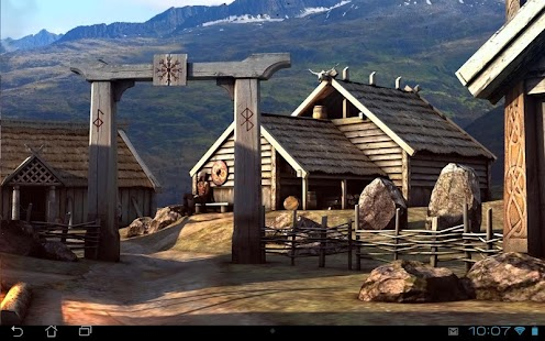 Vikings 3D LWP Screenshot