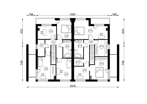 B-122 - Rzut piętra