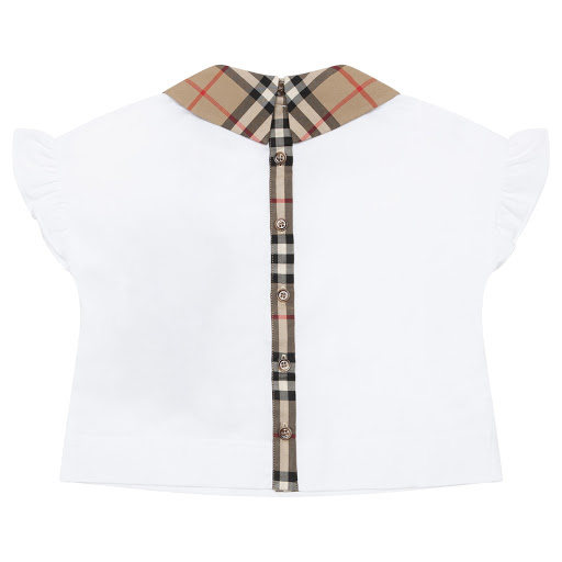 Thumbnail images of Burberry Vintage Collar Top