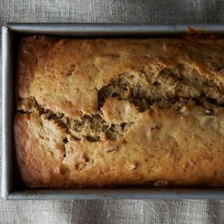 Brown Butter Bourbon Banana Bread