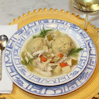 Chicken Vegetable Matzo Ball Soup