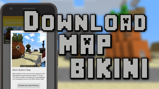 Bikini Bob Map for Minecraft 1.02 screenshots 1