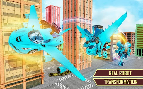Flying Car Transformation Robot Wars Car Superhero 8