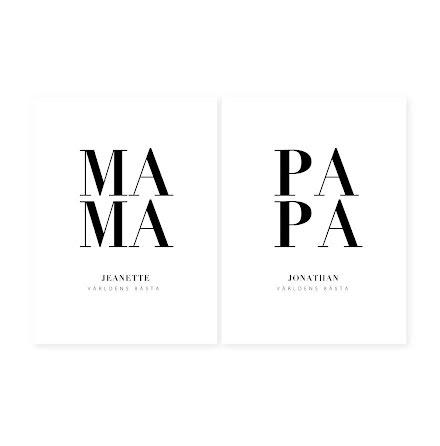 MAMA/PAPA