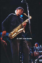 Photo: Charles Lloyd 2001 (Montreal Jazz Festival)