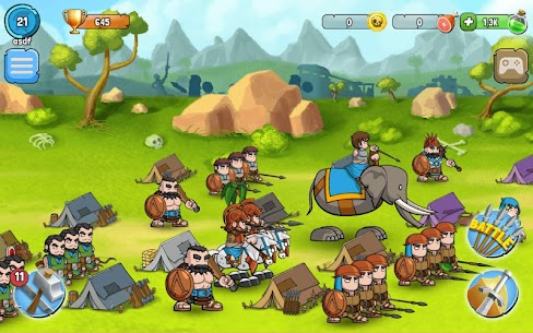 Spartania: The Orc War! Strategy & Tower Defense! 3.17 Mod + APK + Data UPDATED 3