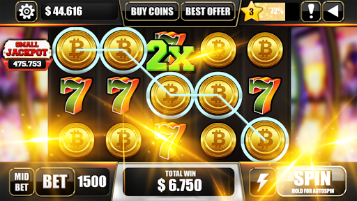 🔷Free Bitcoin Mining Game Slot Machines 🔷  screenshots 1