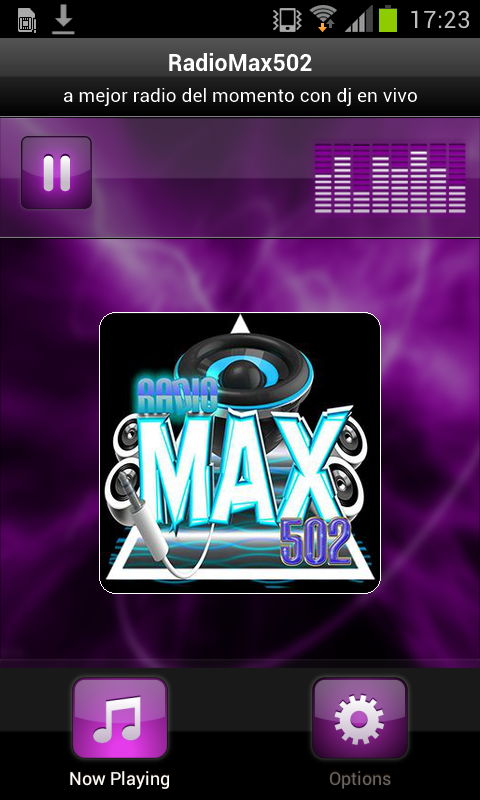 RadioMax502- screenshot
