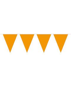 Flaggirlang, 10 m orange