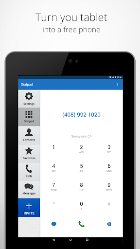 Talkatone: Free Texts, Calls & Phone Number 5.7.6 screenshots 8