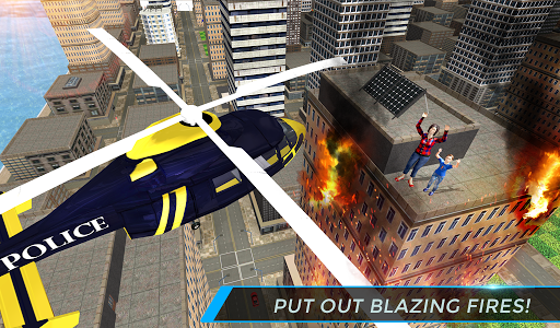 Real City Police Helicopter Games: Rescue Missions 4.0 screenshots 13