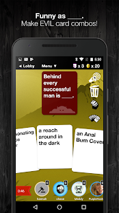 Evil Apples: A Dirty Card Game- screenshot thumbnail