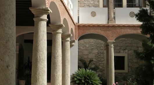 La ciudad interior del Convento de las Puras