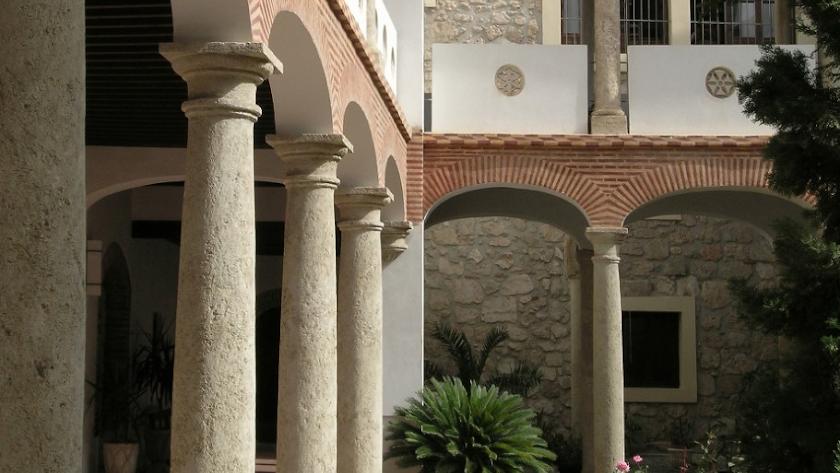 Detalle de la foto de cubierta del libro sobre el Convento de las Puras.