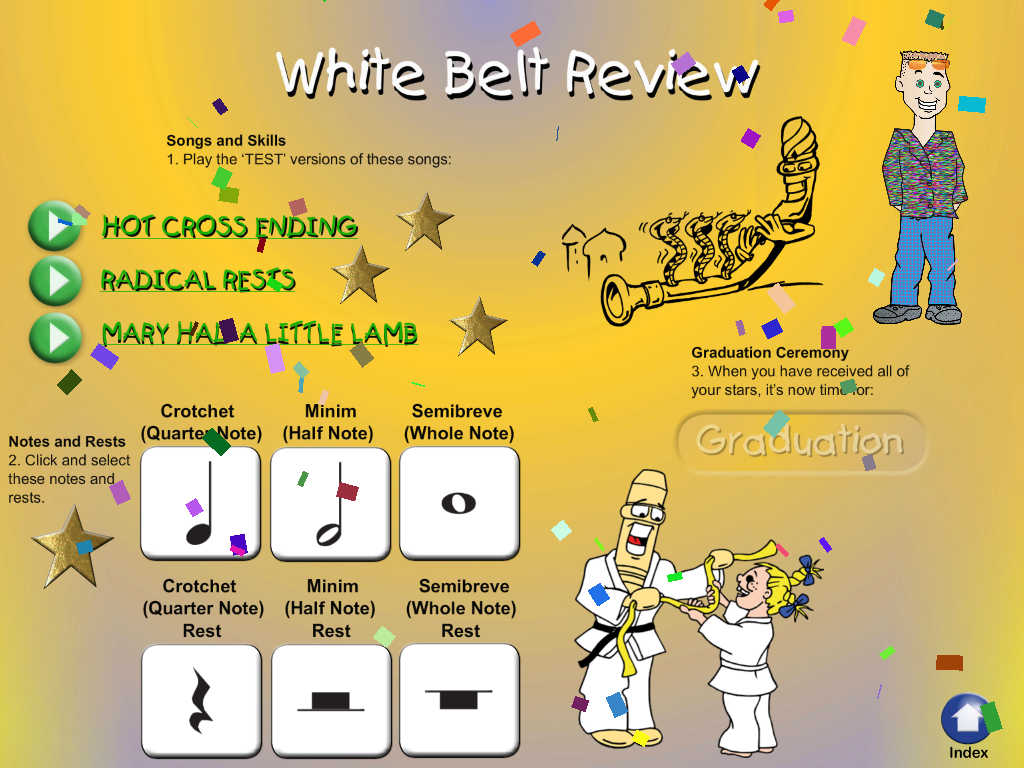 Black Belt Recorder White Lite- screenshot