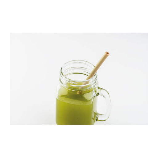 Reusable Bamboo Drinking straw set of 2