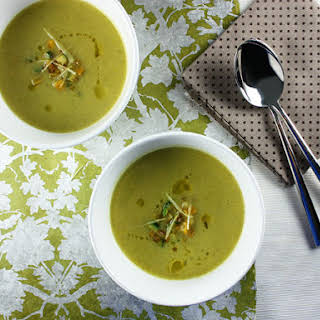 Zucchini and Fresh Ginger Velouté.