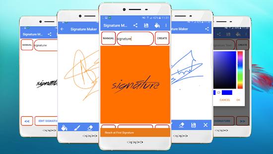 Signature Maker: logo - náhled