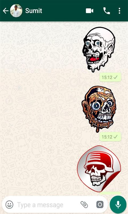 WAStickerApps - Horror Stickers – (Android Apps) — AppAgg