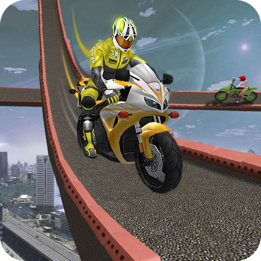 Impossible Bike Driving Games