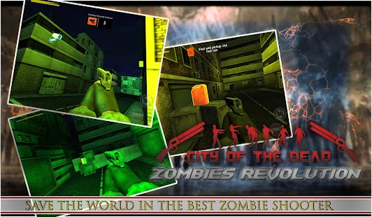 City of the undead : Zombies Revolution 2018 - náhled
