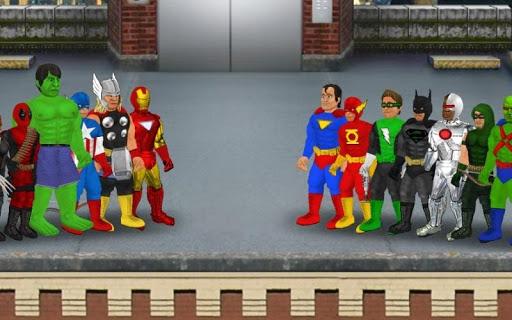 Super City (Superhero Sim)  captures d'u00e9cran 1
