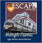 Escape Midnight Express, coffee chocolate oatmeal milk stout