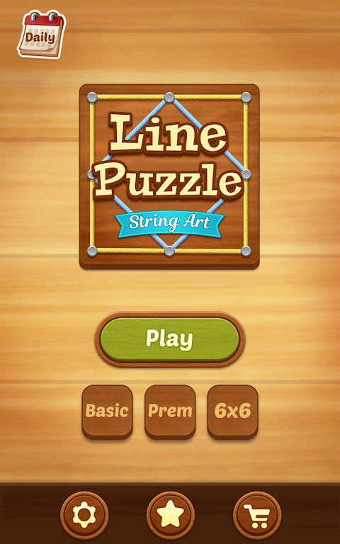 Line Puzzle: String Art poster 5