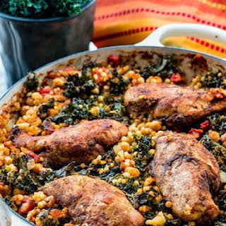 Moroccan Chicken Couscous.